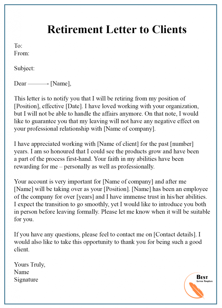 Client Transition Letter Template from bestlettertemplate.com