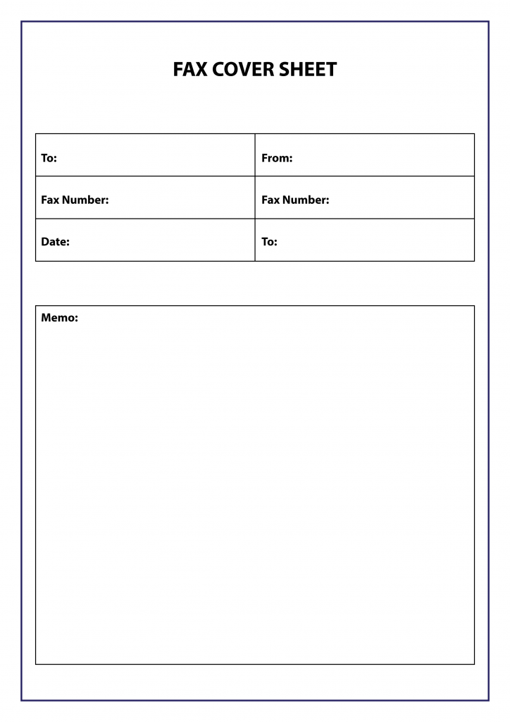 free fax cover sheet template  pdf  word  google docs