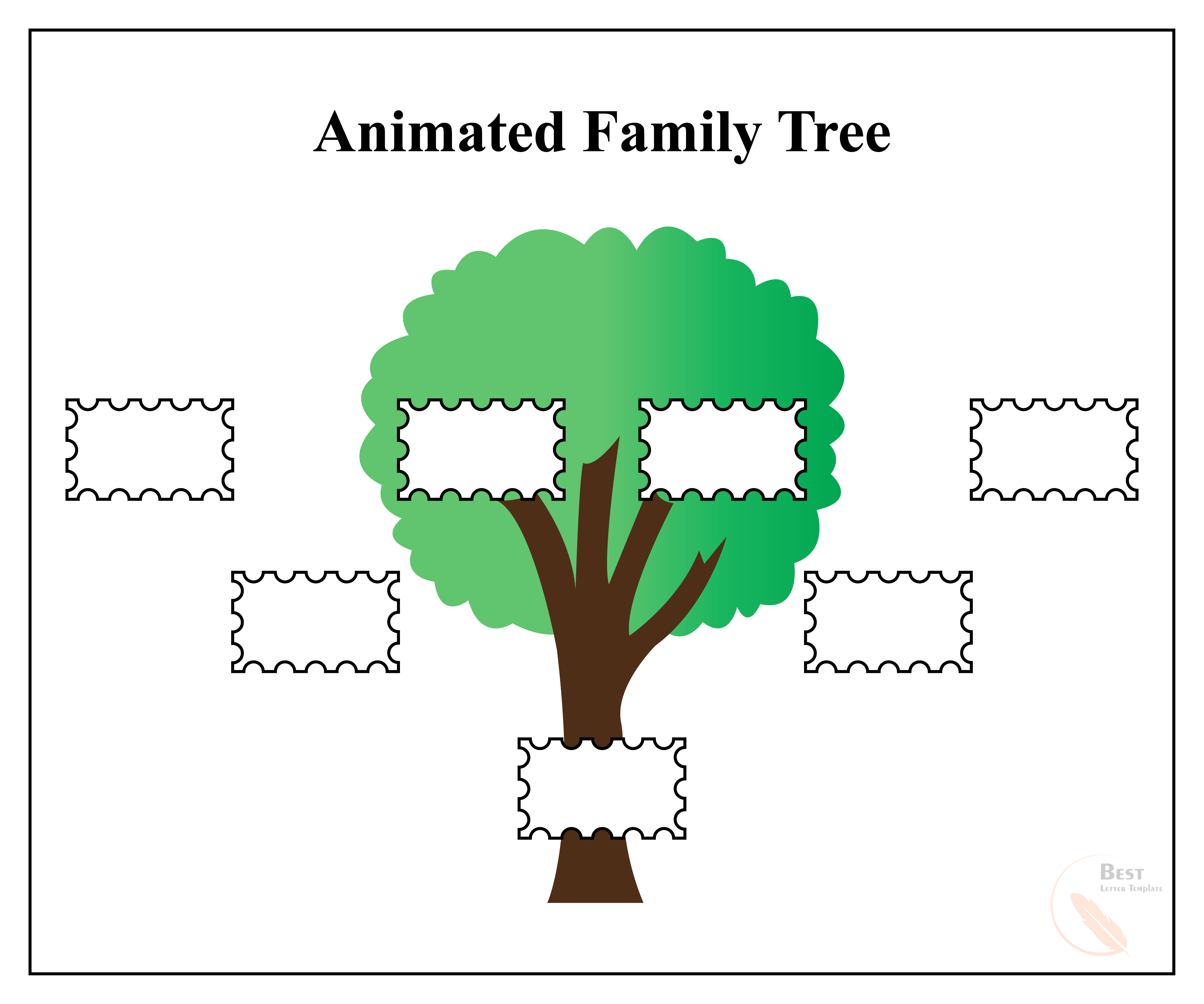 Animated Family Tree