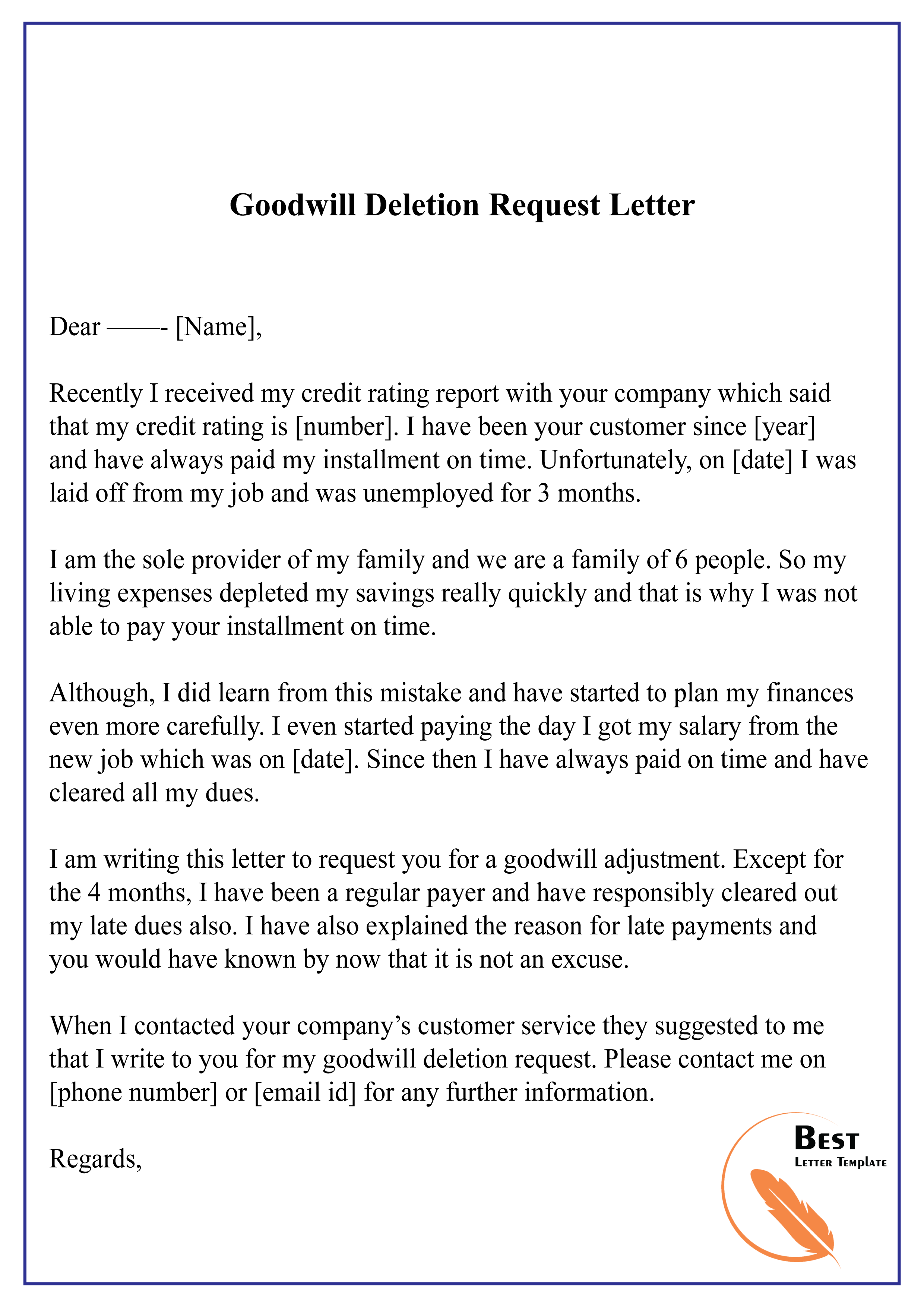 Request Day Off Letter from bestlettertemplate.com