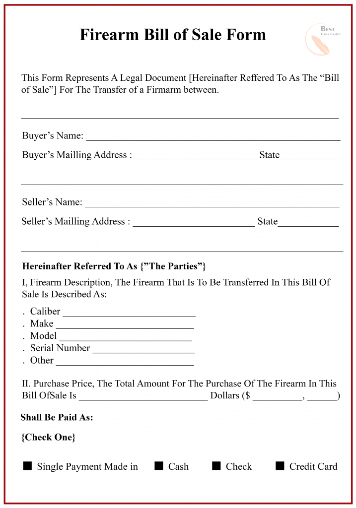 Texas Bill Of Sale Form For Dmv Car Boat Pdf Word