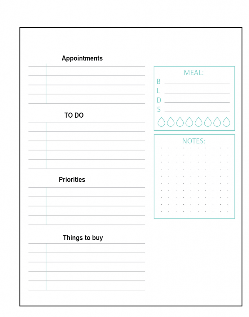 Cheap Large Daily Planner