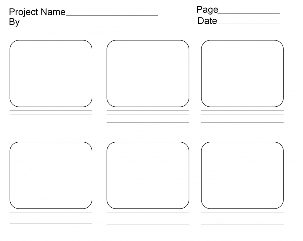Storyboard Template Powerpoint [PPT]