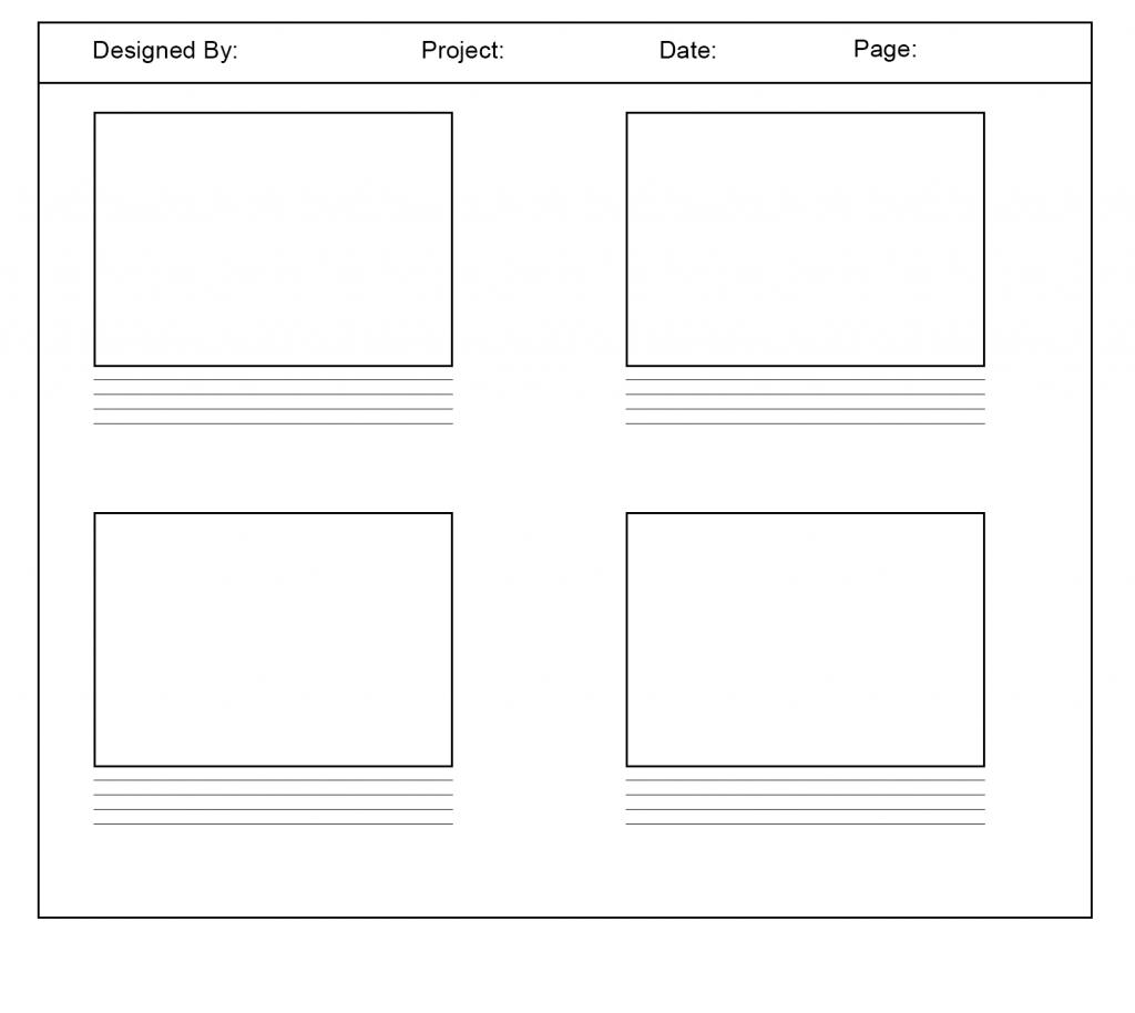 User Storyboard Template