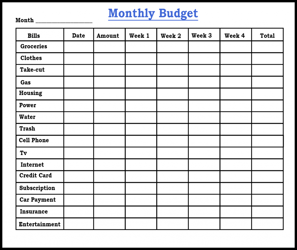Free Sample Printable Budget Planner Template Pdf Word Excel