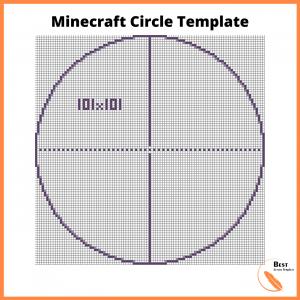 Minecraft Circle Template