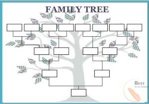 Family Tree Form Template