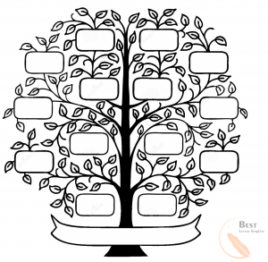 Family Tree Template Example
