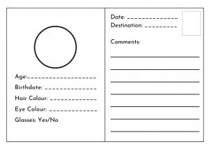 Preschool Passport Template