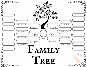 Printable Family Tree Template Download