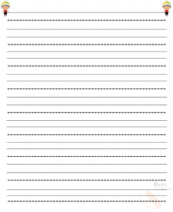 Printable Lined Paper for Kids