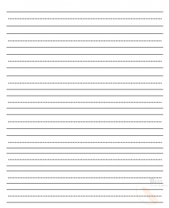 Printable Lined and Dotted Paper
